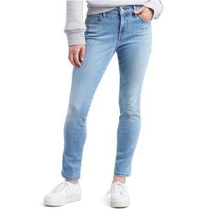 NWT LEVI classic mid-rise skinny jeans Sz 14